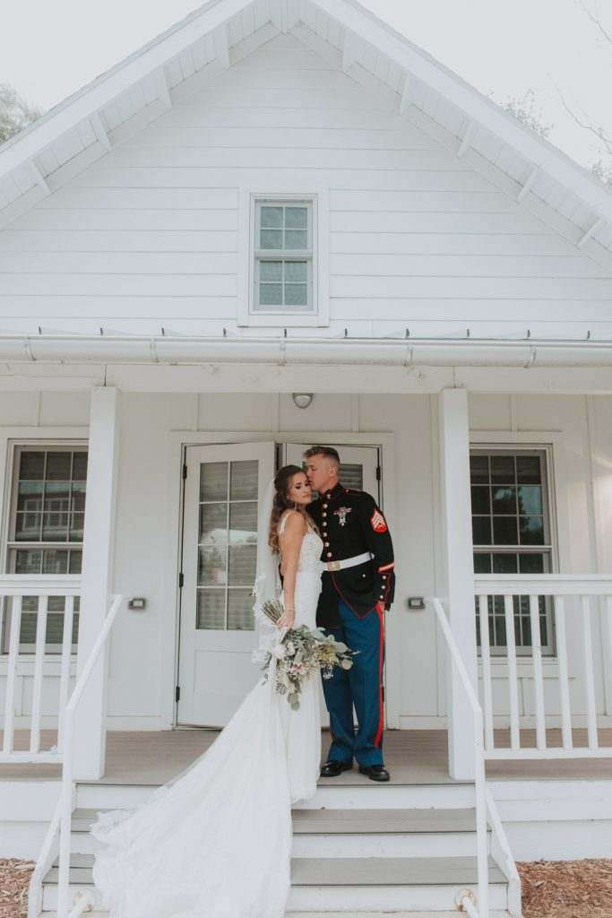 bride and groom photos from wedding reception at the barn at raccoon creek in ken caryl denver colorado