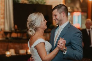 bride and groom first dance from wedding day in lincoln nebraska